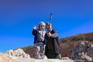 Походы с грудным ребенком по Крыму