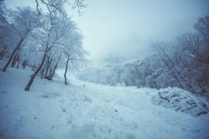 Лавина в Крыму, Холодный кулуар