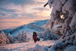 Бабуган-яйла зимой